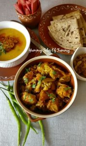 Read more about the article Gobhi Aloo Dhaba style | Aloo Gobi fry