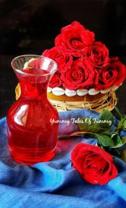 Read more about the article Rooh Afza syrup recipe | Recipe of Gulab sharbat