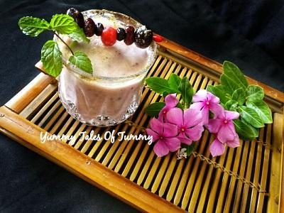 Fruit Lassi Recipe | Fruit Yogurt Cooler