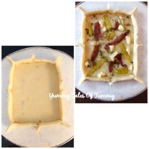 Sweet potato flatbread Recipe
