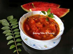 Rajasthani Tarbooj chana sabzi