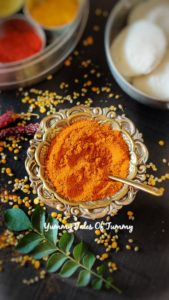 Sambar powder   Homemade Sambar masala