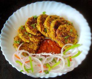 Lauki ke kabab | Dhoodhi kabab | Bottle gourd kababs