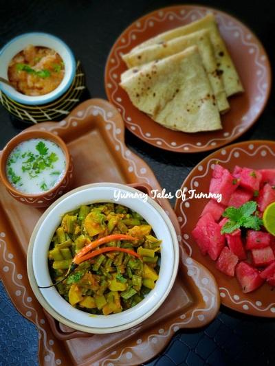 Gawar ki sabzi recipe | Cluster beans curry |