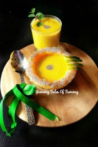 Mango Melon Smoothie | Mango Melon Cold Soup