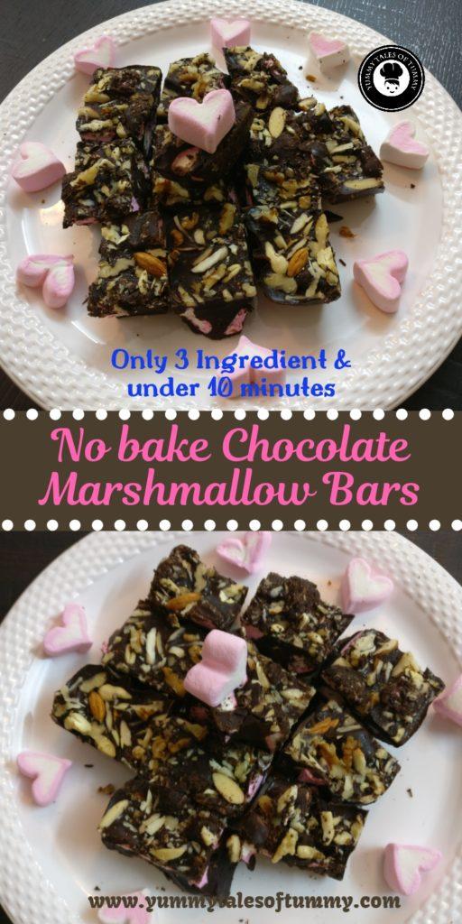 Chocolate marshmallow bars recipe