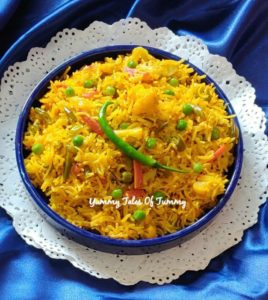 Veg pulao recipe | Vegetable pulav recipe