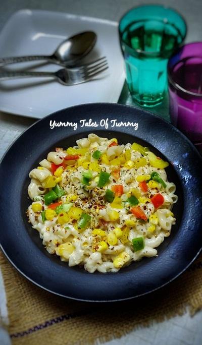 white sauce pasta (Maida free)