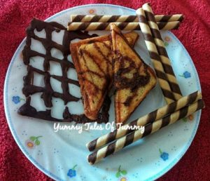 Read more about the article Chocolate Fruit Sandwich Recipe