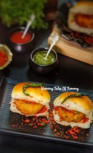 Read more about the article Vada Pav Recipe | How to make Wada pav | Batata Vada pav | Mumbai style Vada pav