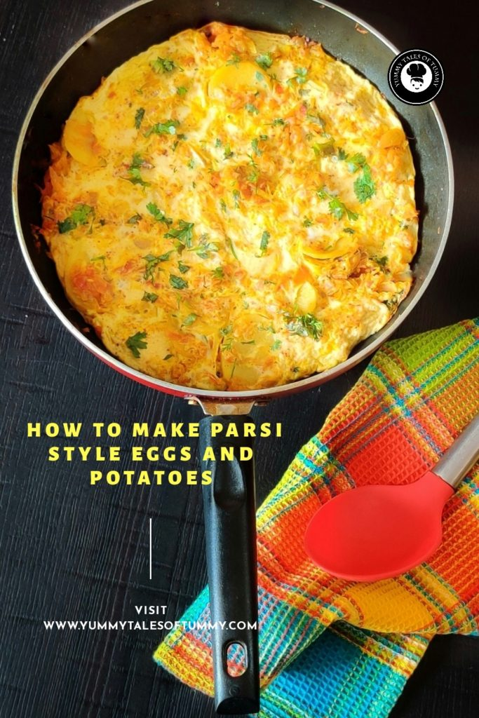 Papeta par Eeda | Parsi style Potatoes and eggs | How to make Parsi style Eggs and potatoes