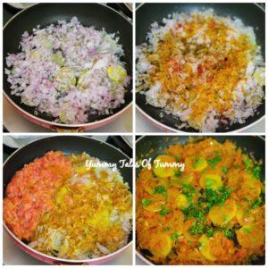 Papeta par Eeda | Parsi style Potatoes and eggs