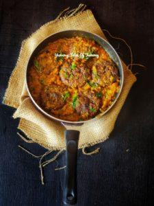 Sindhi Style Besan tikki sabzi | Besan (aani) ji Bhaji