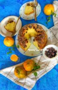Orange Cranberry Pound Cake