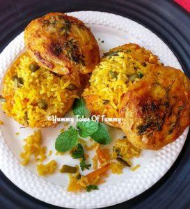 Read more about the article Biryani stuffed baked jacket Potatoes