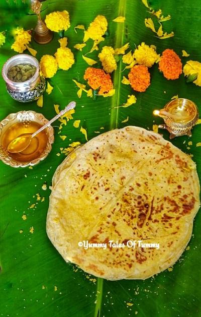 Puran Poli | Maharashtrian Puran Poli Recipe