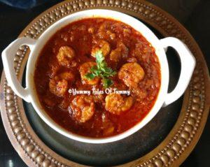 Prawns Balchao | Goan Prawns pickle Recipe