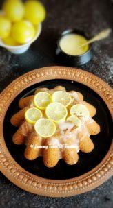 Eggless Lemon Cake Recipe