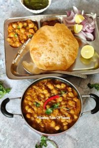 Read more about the article Chole Bhature Recipe | Punjabi Chola Bhatura