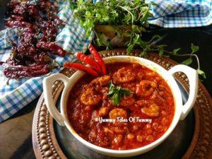 Read more about the article Prawns Balchao | Goan Prawns pickle Recipe