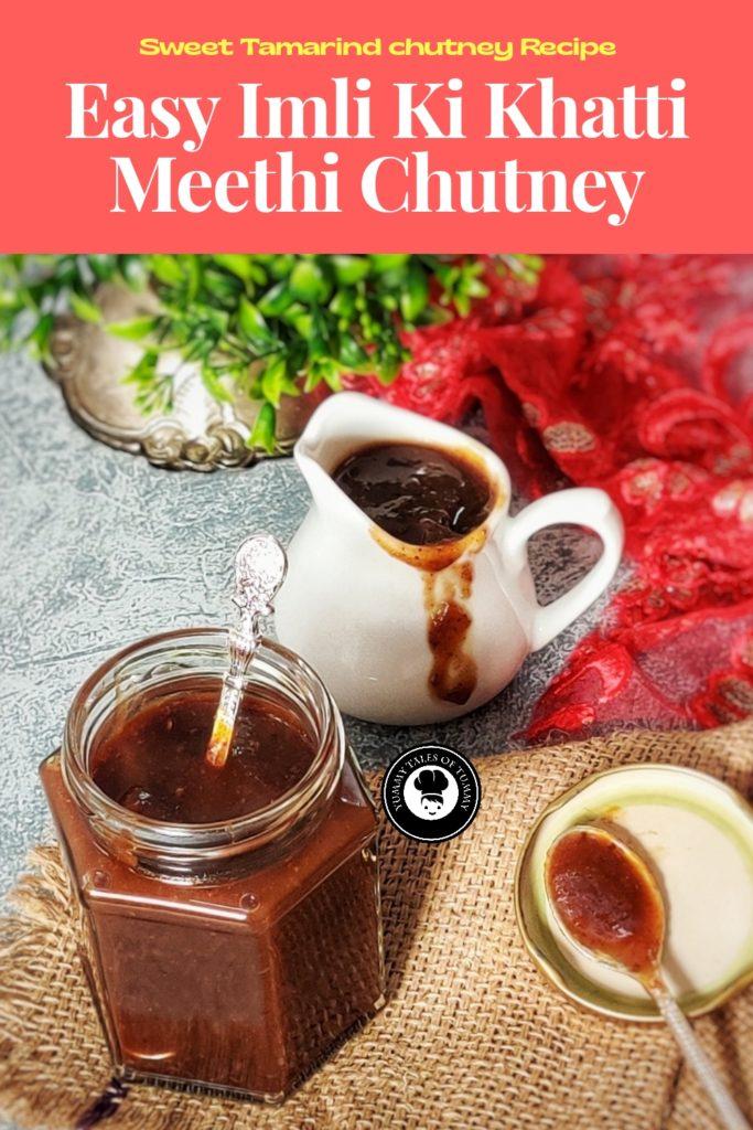 Imli Chutney   Sweet Tamarind chutney Recipe