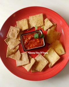 Baked Multigrain Savory Crackers Recipe