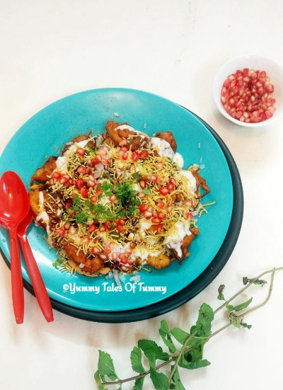 Lal saag patta chaat | Amaranth leaves chaat