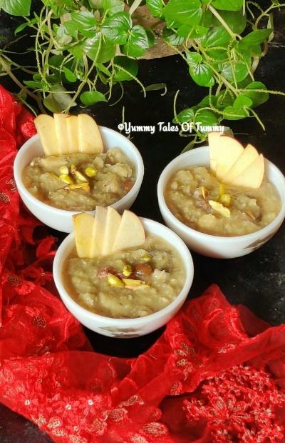 Sweet potato and Apple Kheer