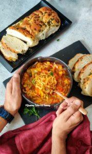 American Chop suey Recipe | Veg American Chop suey | Chop suey recipe