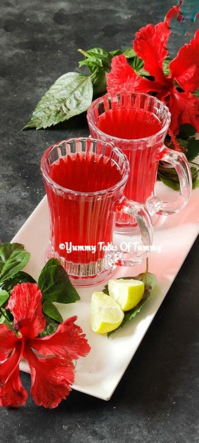 Hibiscus tea recipe | Gudhal ki chai