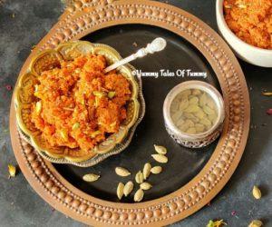 1 spoon ghee Gajar halwa recipe   Gajar ka halwa