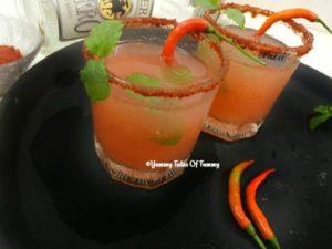 Spicy Guava Margherita Recipe