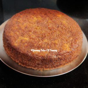 Eggless orange cake Recipe