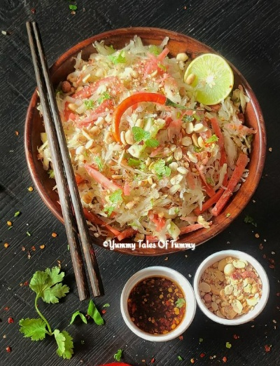 You are currently viewing Green Papaya Salad | Som Tam Salad