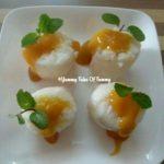 Mango Sushi | Thai Sweet sticky rice with mango