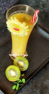 Easy Kiwi Lemonade recipe