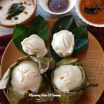 Khotto (Idli steamed in Jackfruit leaves) | Kottige
