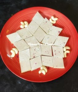 Read more about the article Kaju katli recipe | Kaju ki barfi | Kaju burfi