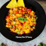 7 Ingredient Fresh Mango Salsa | Mango Salsa
