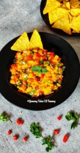Read more about the article 7 Ingredient Fresh Mango Salsa | Mango Salsa