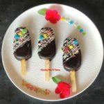 Chocolate cakesicles Recipe (Eggless)