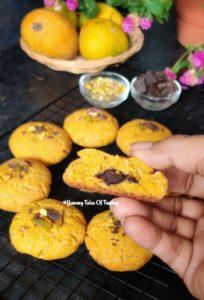 Mango Chocolate Cookies | Mango Cookies