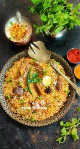 Read more about the article Vangi masala Bath Recipe | Brinjal Rice Recipe