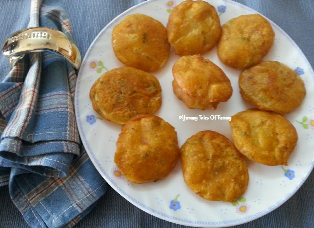 Aloo Pakora   Alu Bhajiya   Potato Pakoda