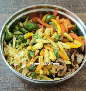Sauted mix vegetables