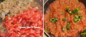 tomato sauce prep pics