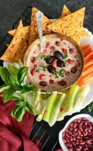 Read more about the article Red Kidney Bean Hummus | Rajma Hummus