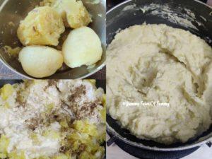mashed potatoes prep pics