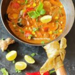 Thai Red curry with Vegetables | Thai Red Curry