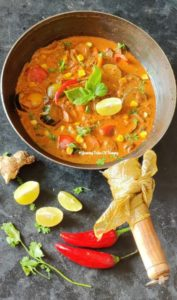 Read more about the article Thai Red curry with Vegetables | Thai Red Curry